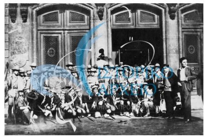 Φωτογραφίες από την ελληνική συμμετοχή στο 3ο Παγκόσμιο Προσκοπικό Τζάμπορη στο  Arrow Park του Birkenhead της Μεγάλης Βρετανίας το 1929.
