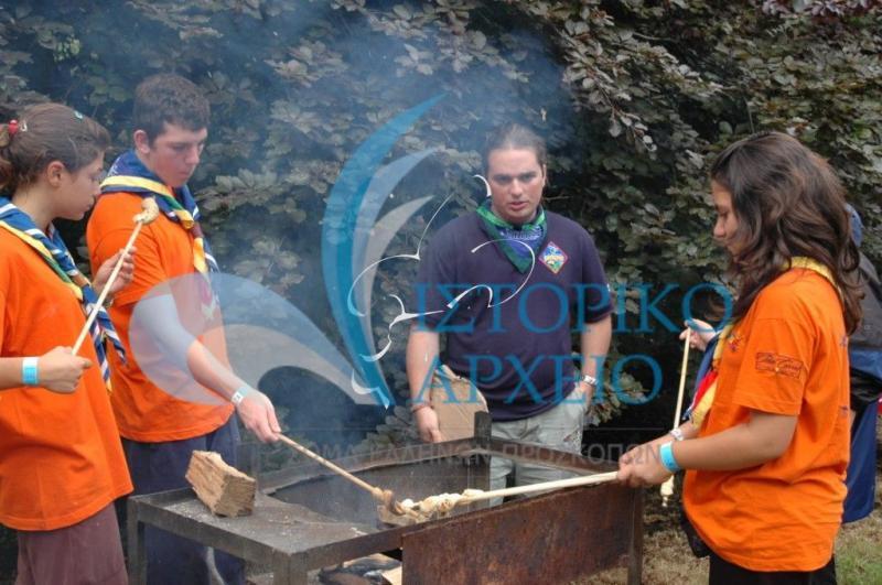 Φωτογραφίες από την συμμετοχή των Ελλήνων Προσκόπων στο 21ο Παγκόσμιο Τζάμπορη για την 100ετία του παγκόσμιου προσκοπισμού στην Αγγλία το 2007.