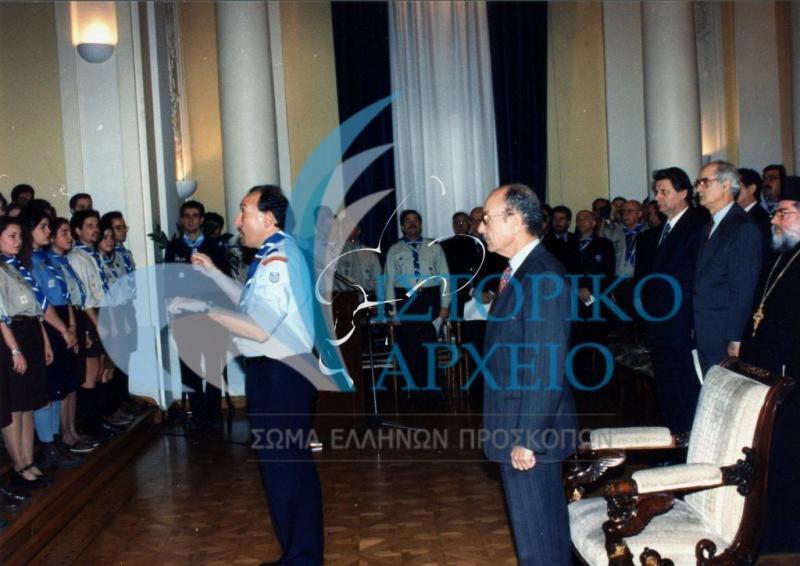 Προσκοπικό συνέδριο, κοινωνική προσφορά, εκδηλώσεις για την ελληνικότητα της Μακεδονίας, και δράσεις σε όλη την χώρα.