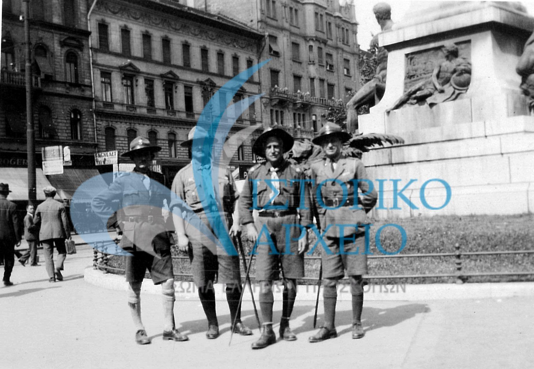 Φωτογραφίες από το 5ο Παγκόσμιο Προσκοπικό Τζάμπορη της Ουγγαρίας το 1933.